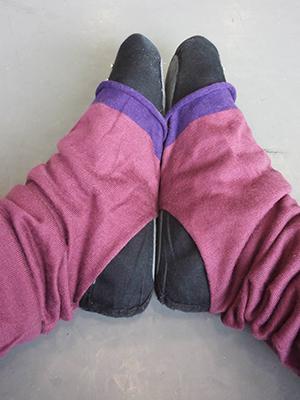poantkobe leg warmer