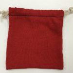 リンキングでニット巾着製作2